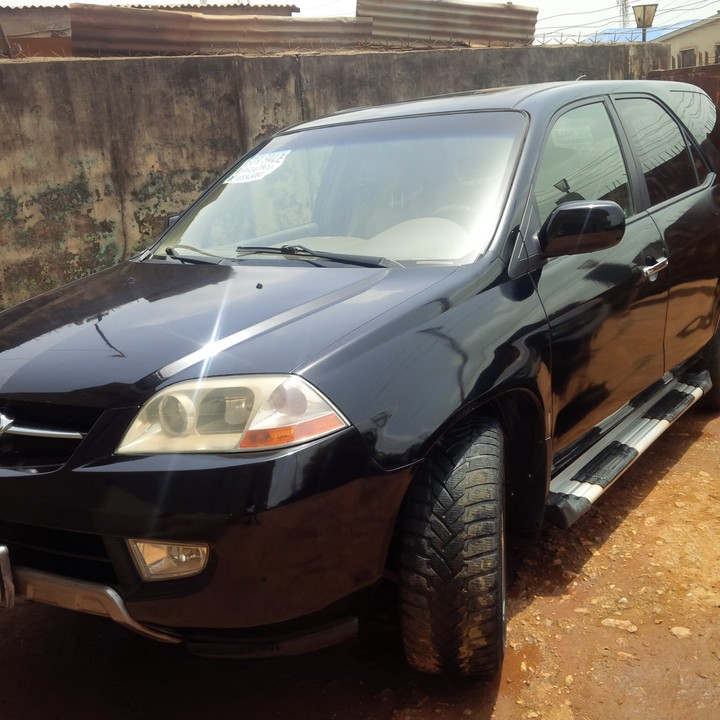 Registered Acura MDX With Navigation And DVD, 3 Rows And
