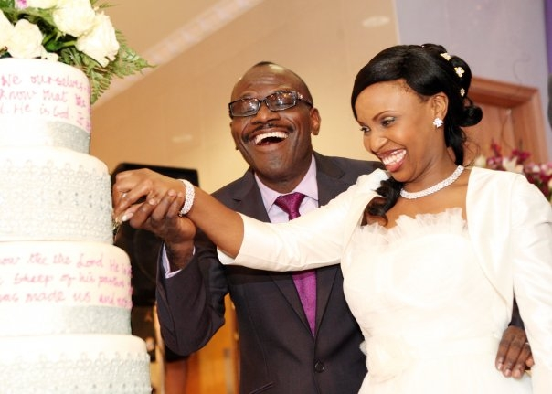 Pastor Taiwo Odukoyas Wedding Pix Celebrities Nigeria