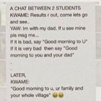 Dialogue between two students on terrorism