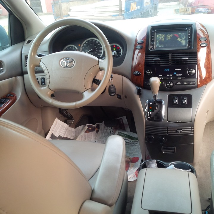 Sold Tokunbo Full Options 2004 Toyota Sienna Xle Awd