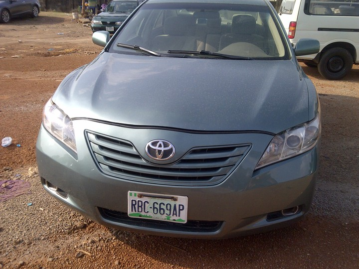 toyota camry 2008 in abuja cal 08100392181 autos nigeria. Black Bedroom Furniture Sets. Home Design Ideas