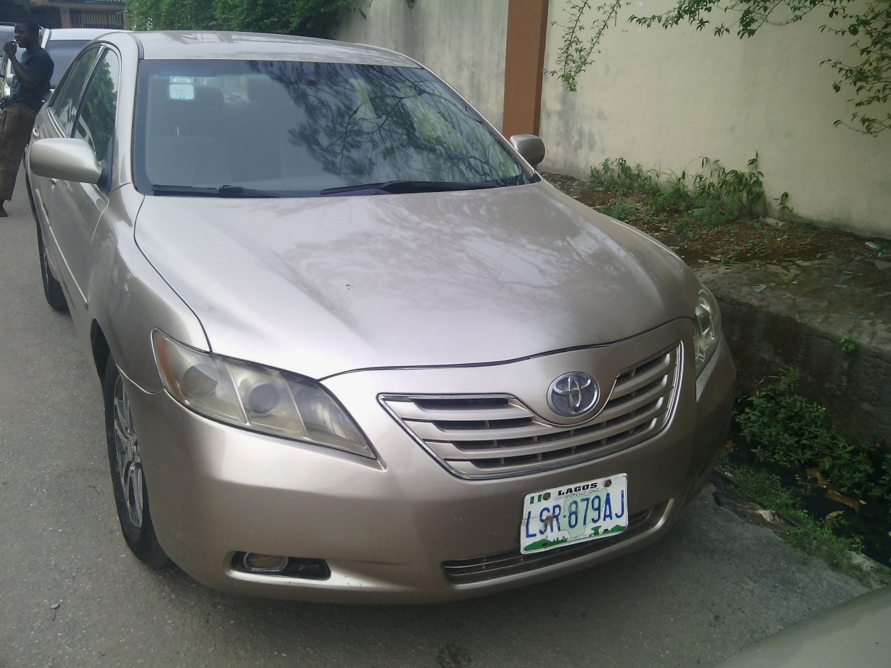 toyota muscle camry 2008 for sale autos nigeria. Black Bedroom Furniture Sets. Home Design Ideas