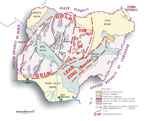States And Their Solid Minerals Politics Nigeria
