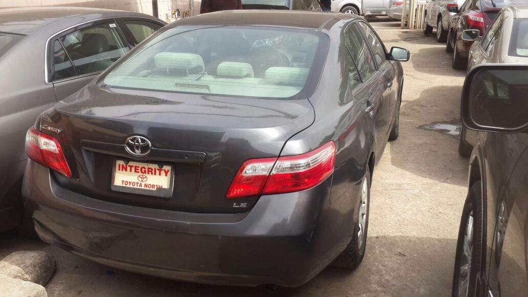 2007 2008 toyota camry le usa direct tokunbo contact 07065484280 autos nigeria. Black Bedroom Furniture Sets. Home Design Ideas