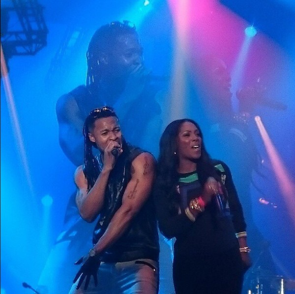 Tiwa Savage Performs With Flavour In London (photo