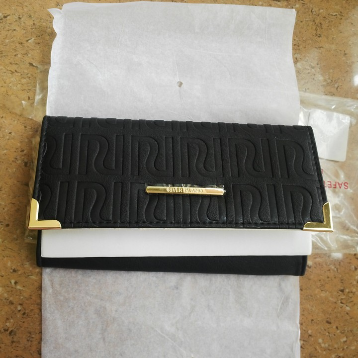 db6813293 River Island Embossed Fold Over Purse For Sale - Fashion/Clothing ...