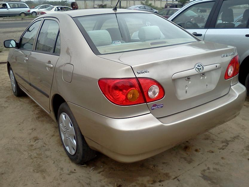 direct tokunbo toyota corolla 2004 model lagos ikeja 09035336656 autos nigeria. Black Bedroom Furniture Sets. Home Design Ideas