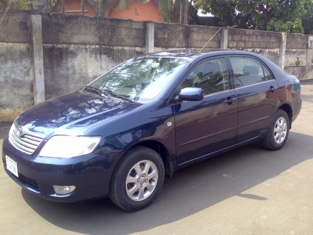 sold sold 2006 toyota corolla gli bank type automatic sold autos nigeria. Black Bedroom Furniture Sets. Home Design Ideas