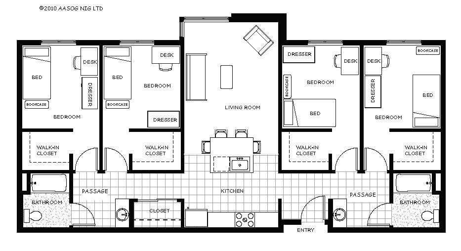 In Need Of A Modern 4 Bed Bungalow Plan