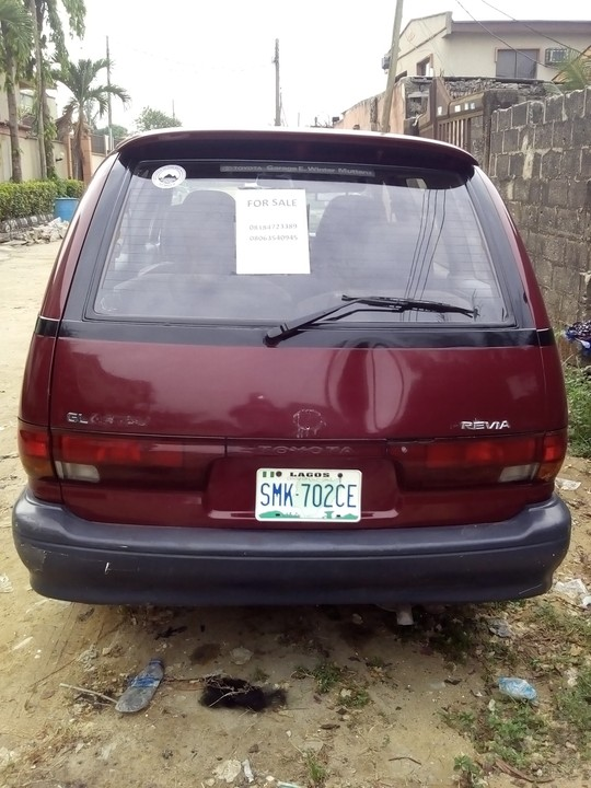 A Very Clean 9ja Used Toyota Previa Space Bus For Sale Location