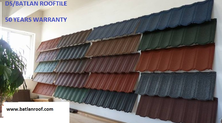Difference Between Step Tile Aluminum Roof Tiles And Stone