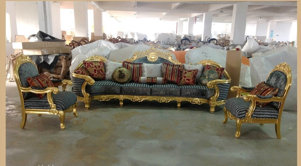 French Style Imported Royal Furniture Sets For Sale