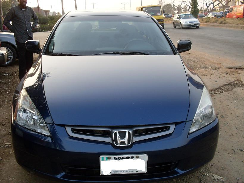 months  registered  model honda accord  forsale autos nigeria