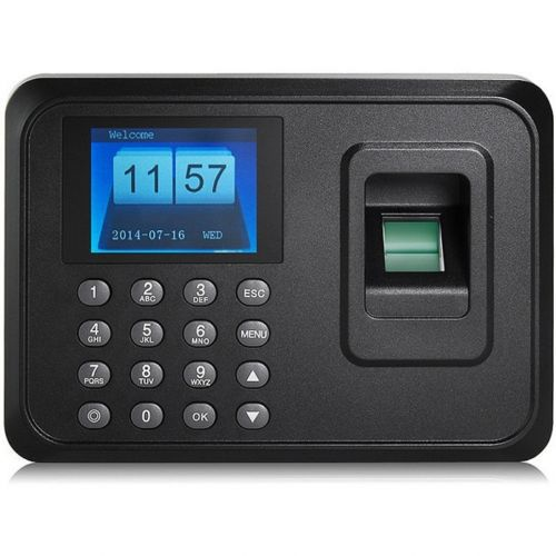 Biometric Time Attendance Machine Clock In And Out