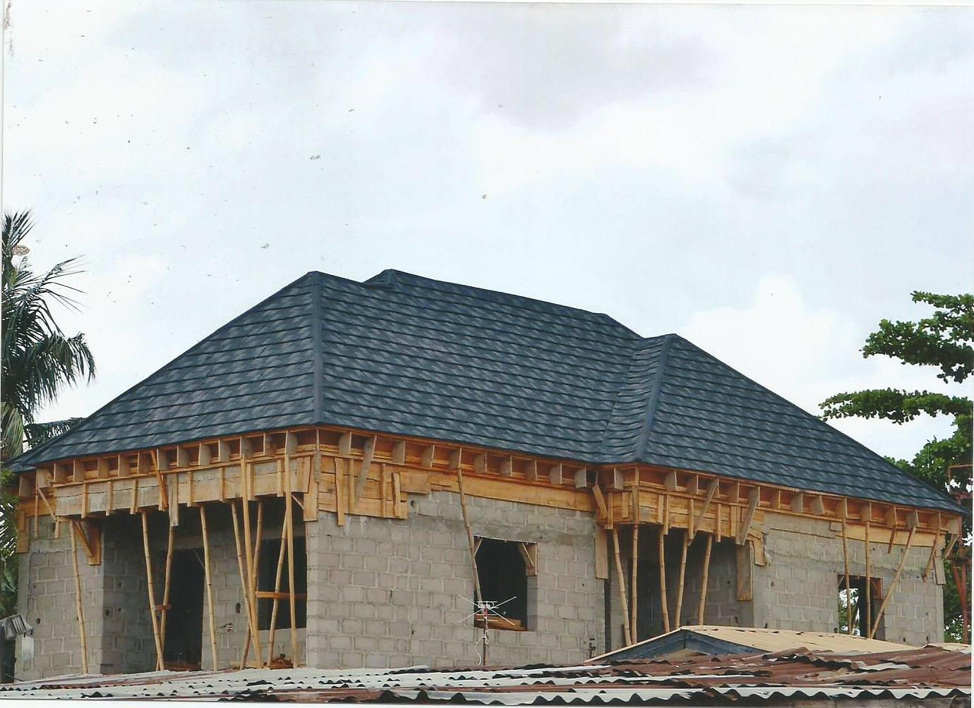 List of building materials in nigeria and the price qoutes for Cost of building a roof