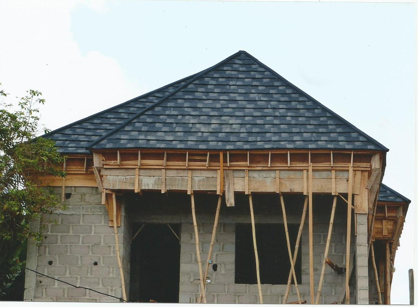 Cost of stone coated roofing tile in nigeria properties for Cost of materials to build a home