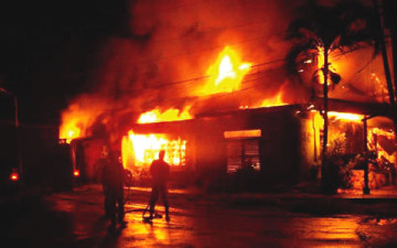 PHOTO: PASTOR'S DAUGHTER KILLED IN KANO AS YOUTHS SET BAPTIST CHURCH ABLAZE