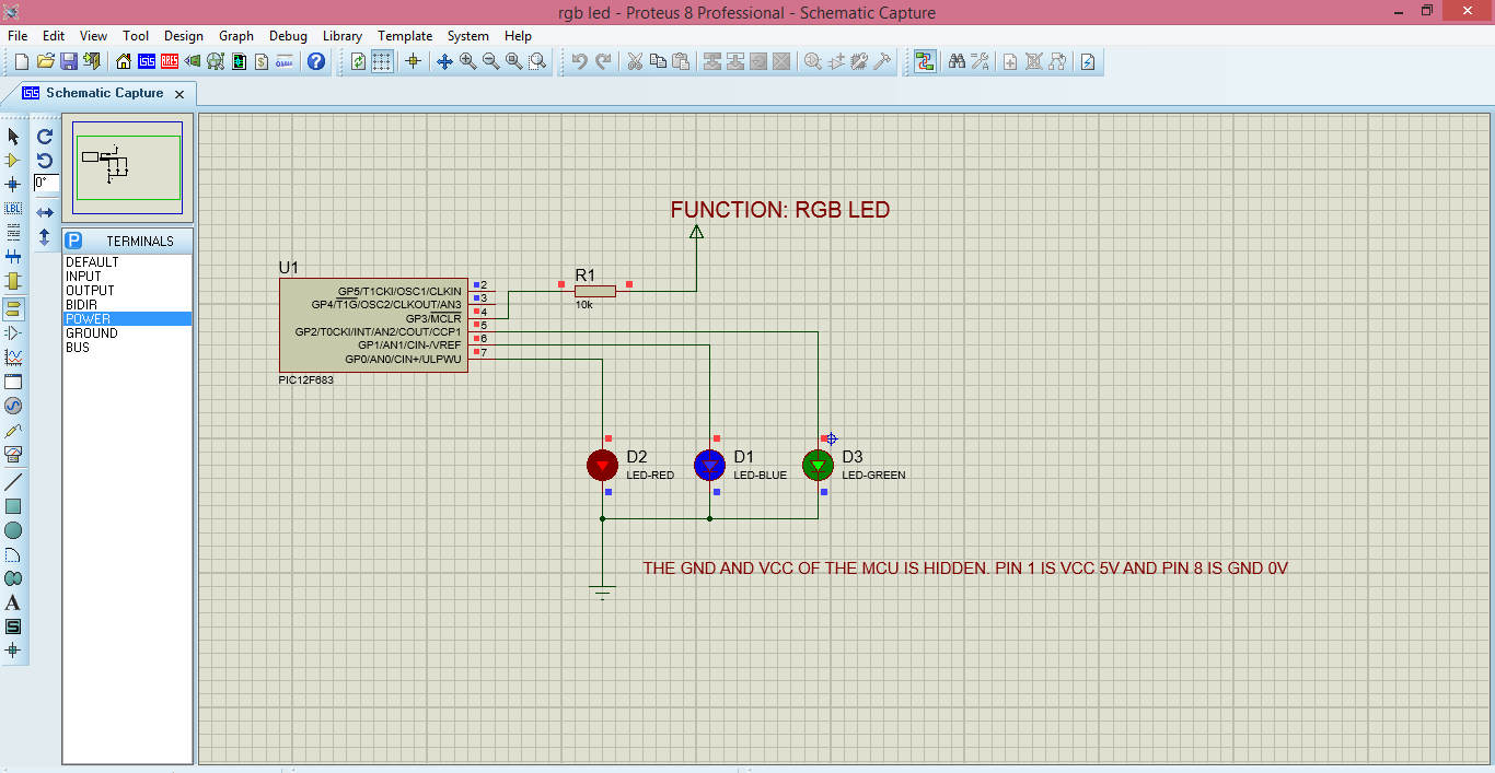 Embedded Systems Tutorial For Beginnersexperiment 3 Led Chaser And The Leds In This Circuit Produce A Chasing Pattern Source File Hex Proteus Of Experiment Is Attached To Post