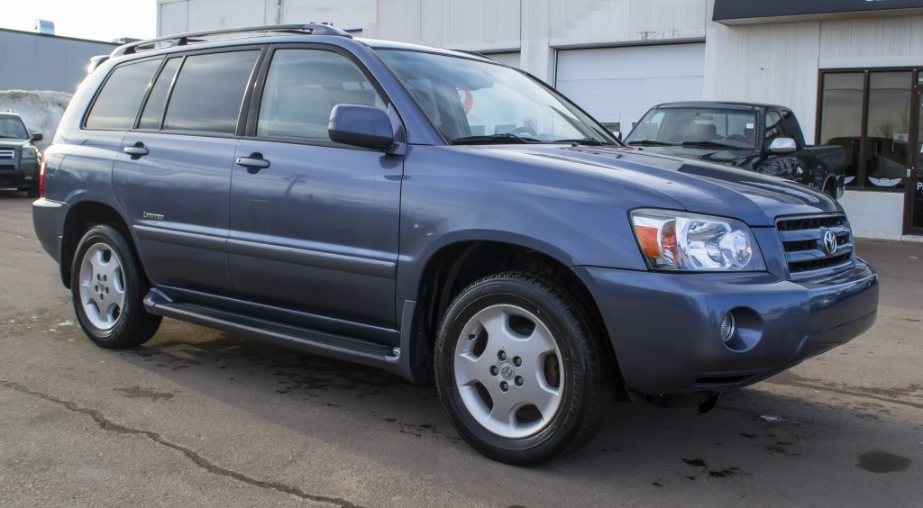 2006 Toyota Highlander Leather Woodgrain 3 Rows Only 2