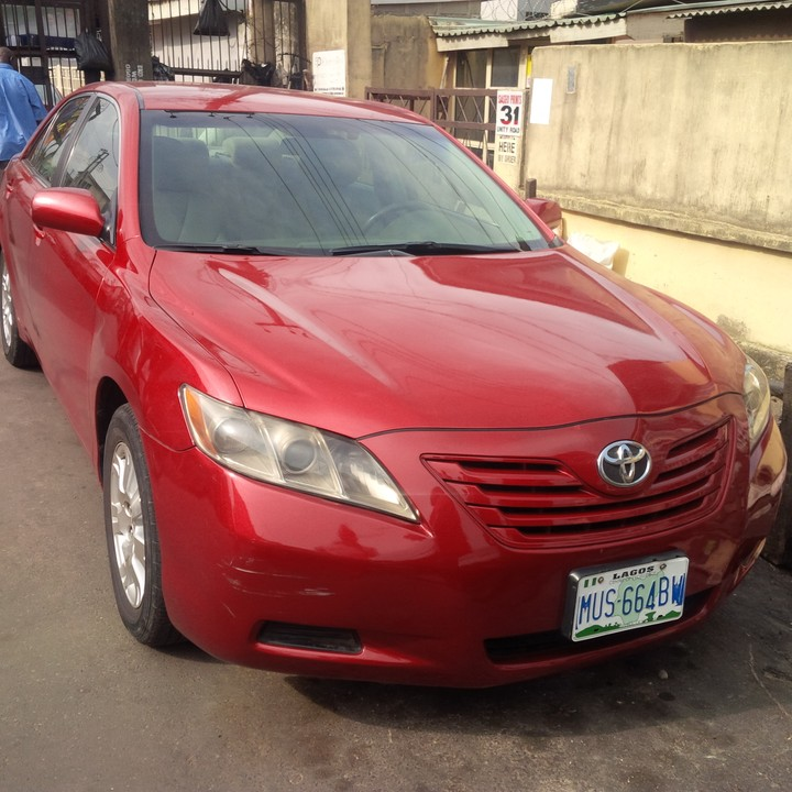 2008 toyota camry going for 1 7m autos nigeria. Black Bedroom Furniture Sets. Home Design Ideas