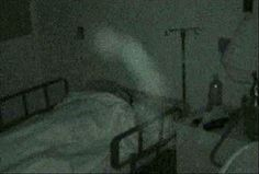 Photo ghost captured on camera inside the hospital by reporter