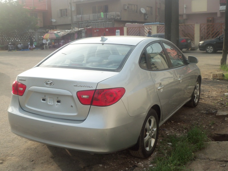 Auto Gele For Sale In Nigeria: Newly Arrived 2009 Model Hyundai Elantra Toks