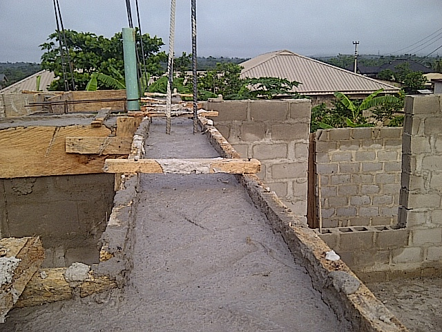 Construction Of A Mansionate Storey Building Of 3bedroom