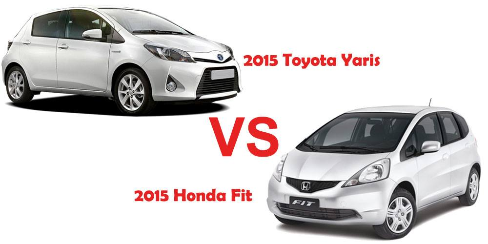 Photos: 2015 Toyota Yaris VS 2015 Honda Fit Which Would You Go For ?   Car  Talk   Nairaland