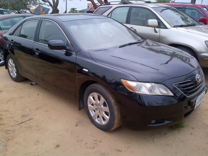 2008 toyota camry registered for sale autos nigeria. Black Bedroom Furniture Sets. Home Design Ideas