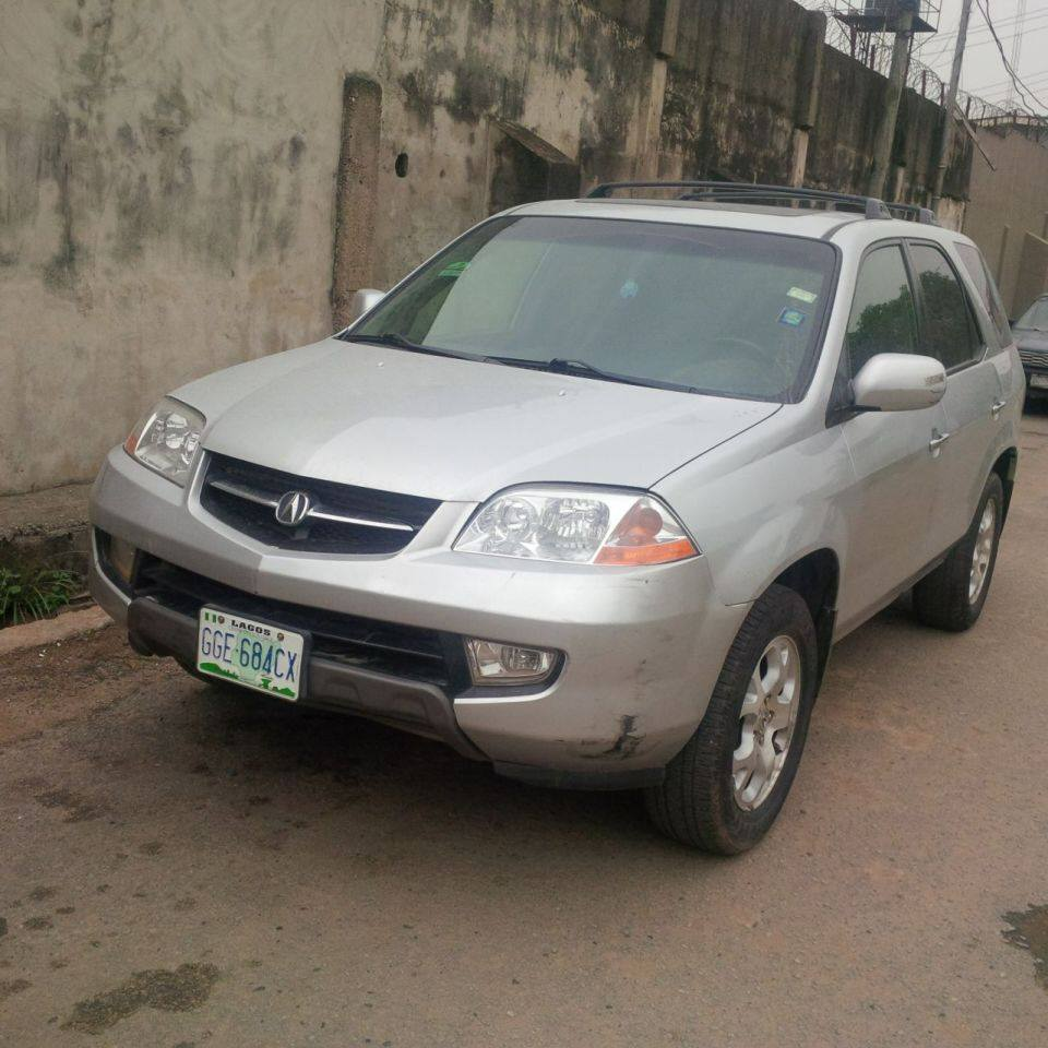 Registered(nigerian Used) Acura MDX Year: 2002 Leather