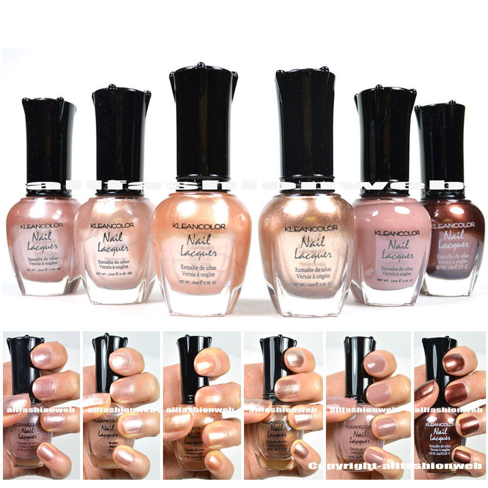 Kleancolor Metallic Nail Polish - Fashion/Clothing Market - Nigeria