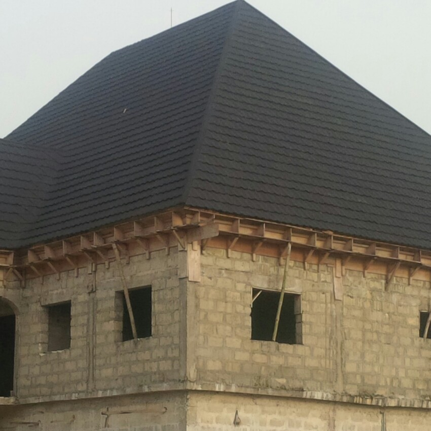 Stone Coated Step Tiles Roofing Sheets Roof Tiiles In