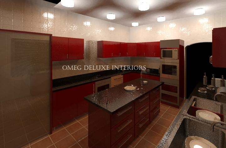 Kitchen design project from start to finish completed for Interior decoration nairaland