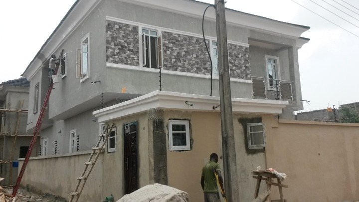 E mansion re screeding painting pictures properties for House painting in nigeria