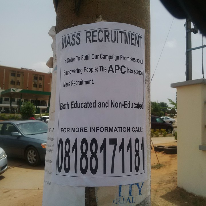 Photo: Beware!!! Scammers Using APC To Swindle Unsuspecting Victims