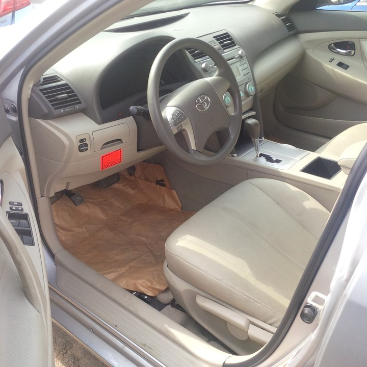 SOLD! Tokunbo 2008 Toyota Camry LE