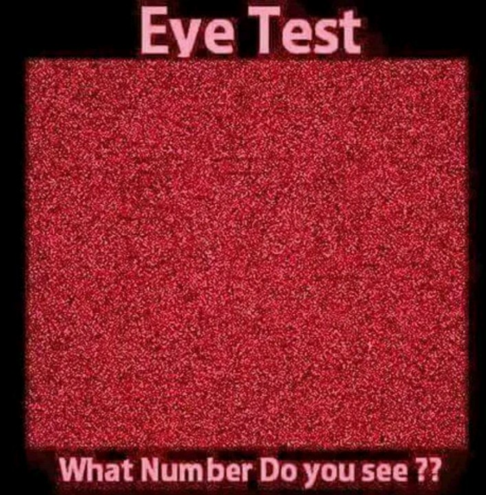 Eyes test what numbers did you see forum games nigeria solutioingenieria Gallery