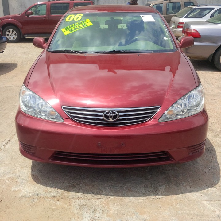 toyota camry 2006 in nigeria 2006 toyota camry limited edition used car for sale in lagos. Black Bedroom Furniture Sets. Home Design Ideas