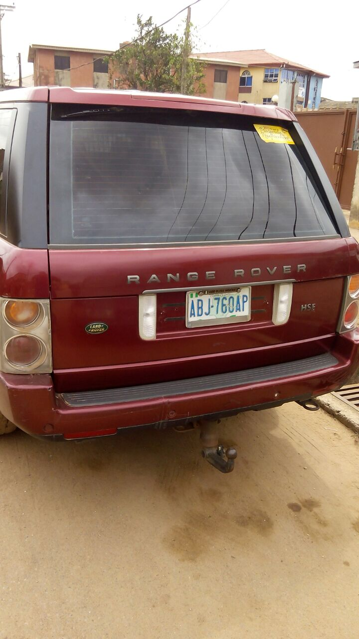 Very Clean Registered Range Rover 2005 For Sale For #2.1m ...