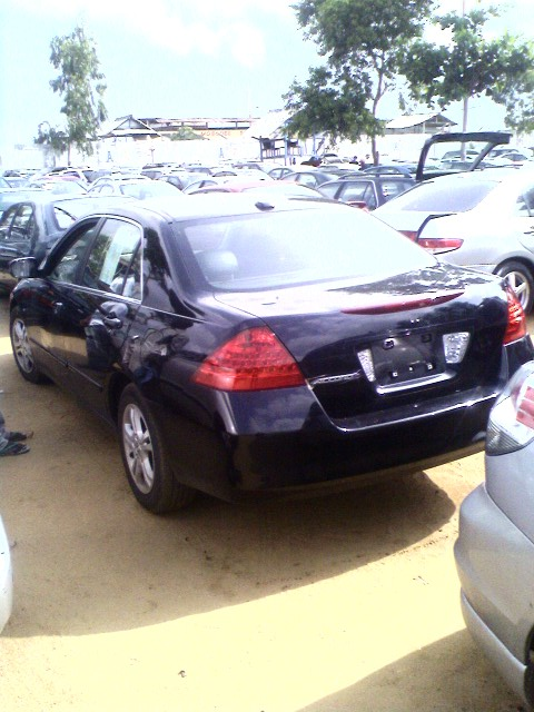 2006 honda accord from cotonou price m naira see. Black Bedroom Furniture Sets. Home Design Ideas
