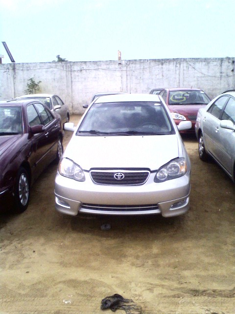 2003 toyota corolla from cotonou price 1 3 m naira see. Black Bedroom Furniture Sets. Home Design Ideas