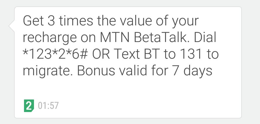 0dc8f70eea7 Got this from mtn