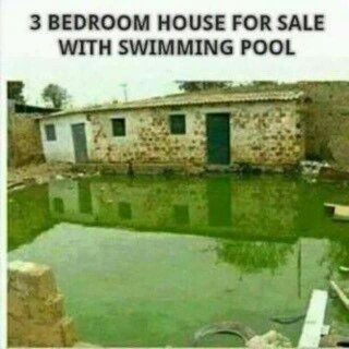 3 Bedroom House For Sale With Swimming Pool, Price Affordable (pics)    Jokes Etc   Nigeria
