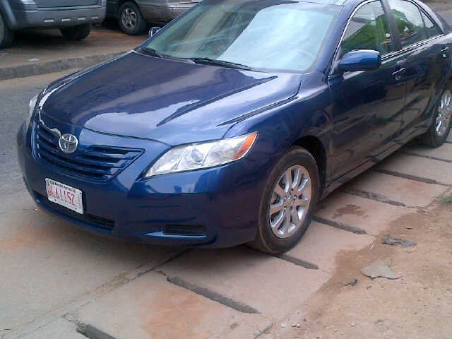 toks 2007 2008 toyota camry le fast sale autos nigeria. Black Bedroom Furniture Sets. Home Design Ideas