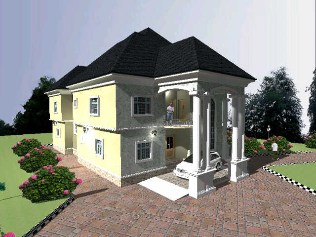 Whats d minimum cost of building a 5 bedroom duplex on for How much does it cost to build a duplex