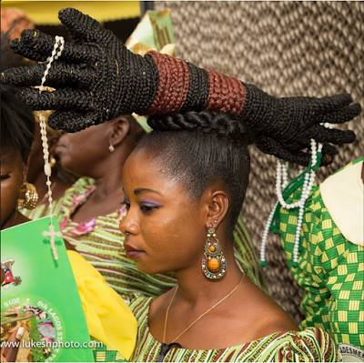 Ladies Can You Rock This Unique Hair Style Fashion Nigeria