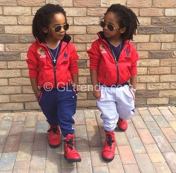 Meet The Cutest Twins In Nigeria Guess Who Is Their