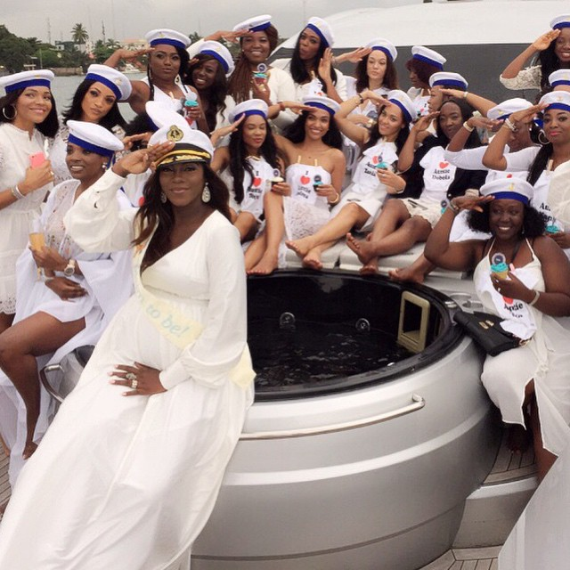 Check Out Exclusive Beautiful Photos From Tiwa Savage Baby Shower