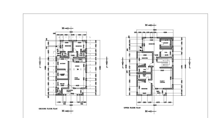 Whats d minimum cost of building a 5 bedroom duplex on Floor plans and cost to build