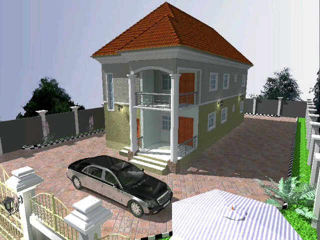 Whats d minimum cost of building a 5 bedroom duplex on for Build house on your land